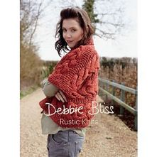 Debbie Bliss Rustic Knits Collection. 5 Knitwear Designs in Winter Garden Chunky Weight Yarn